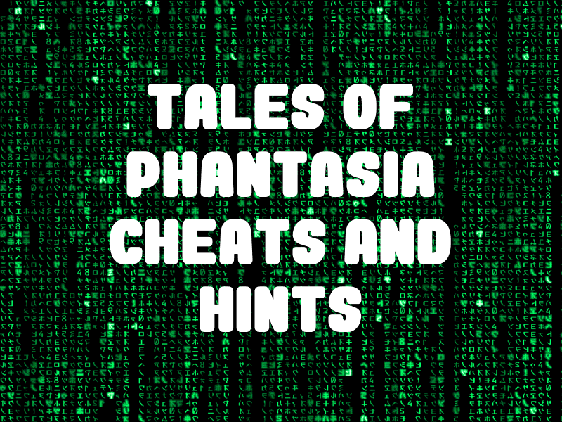 Tales of Phantasia Cheats and Hints for SNES